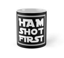 Ham Shot First - White Mug