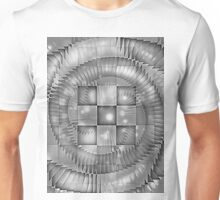 CHECKERED SPIRAL ILLUSIONS Unisex T-Shirt