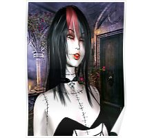 Beautiful Gothic Doll V.2 Poster