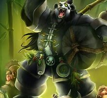 Pandaren (2) iPhone by Phatcat