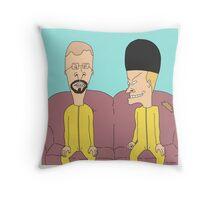 METH, HUHUHU Throw Pillow
