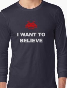 X-Invaders I want to Believe - Graphic T-Shirt