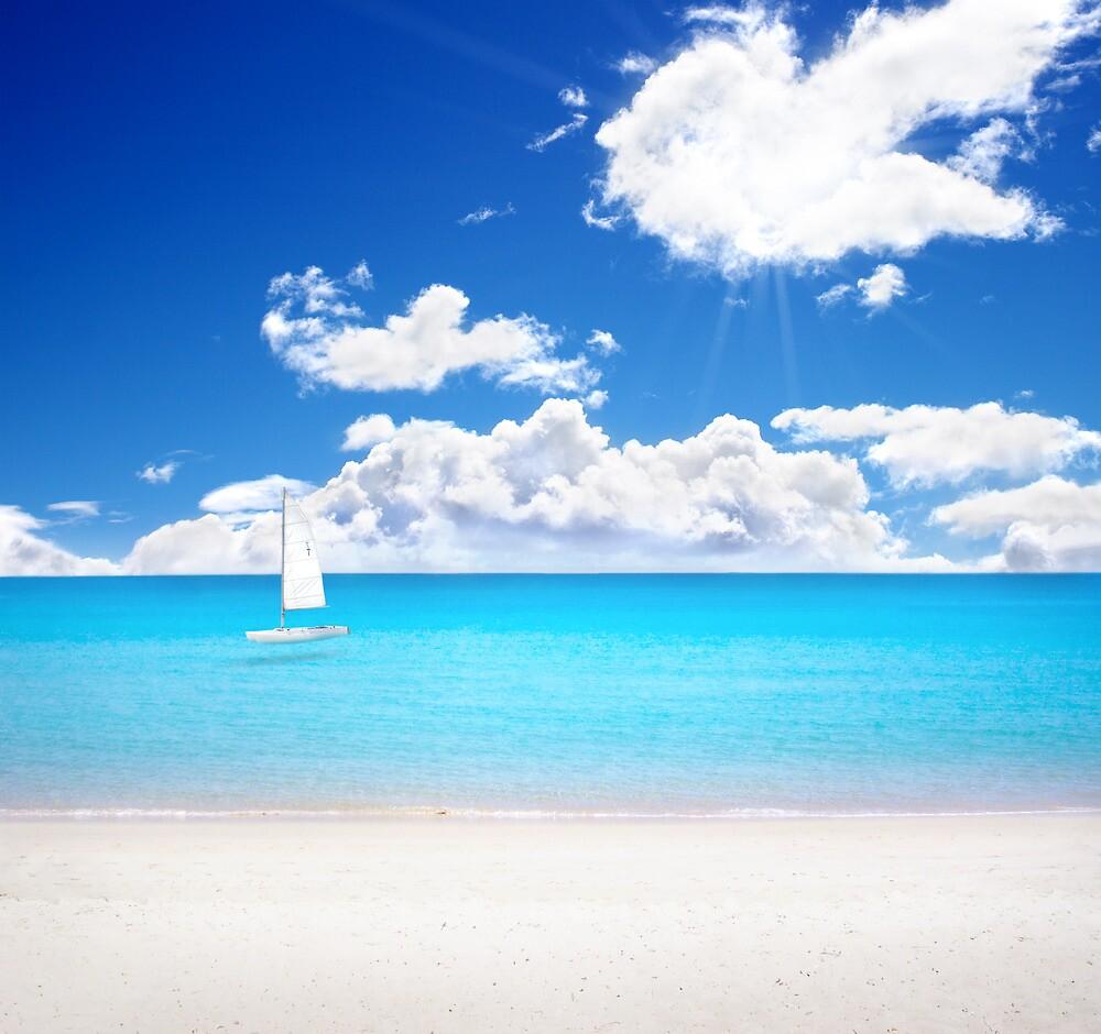 Azure Paradise by photosteak