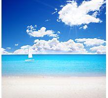 Azure Paradise Photographic Print