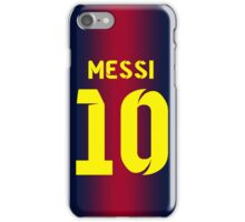 Messi 10 iPhone Case/Skin