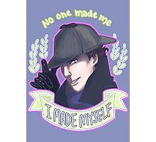 Sherlock - I Made Myself Photographic Print