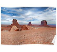 Monument Valley I Poster