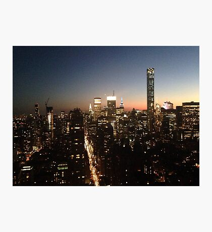 NYC at Night Photographic Print