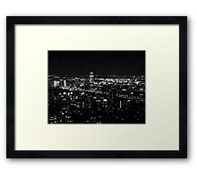 """NYC """"All the Little Lights"""" Framed Print"""