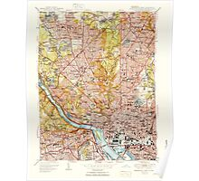 USGS Topo Map District of Columbia DC Washington West 256983 1951 24000 Poster