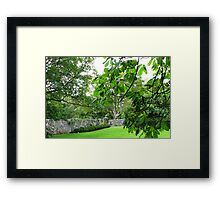Gloriously Green - Lews Castle Grounds Framed Print