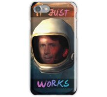 Todd Howard in Space just works iPhone Case/Skin