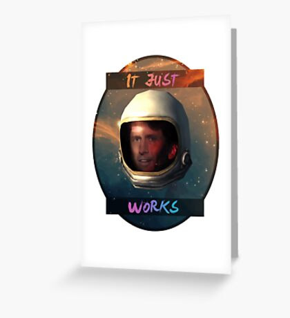 Todd Howard in Space just works Greeting Card