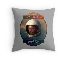 Todd Howard in Space just works Throw Pillow