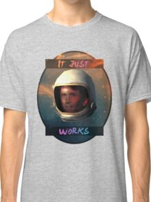 Todd Howard in Space just works Classic T-Shirt