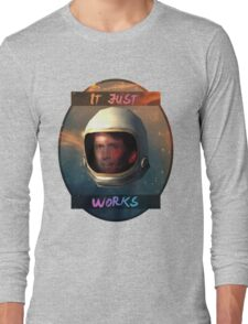 Todd Howard in Space just works Long Sleeve T-Shirt
