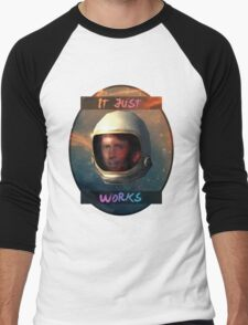 Todd Howard in Space just works Men's Baseball ¾ T-Shirt