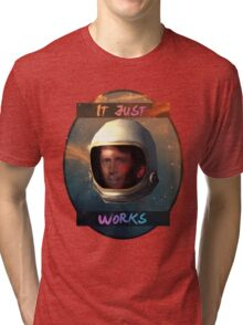 Todd Howard in Space just works Tri-blend T-Shirt