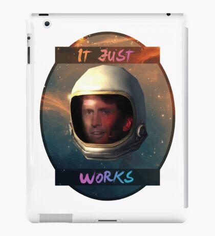 Todd Howard in Space just works iPad Case/Skin