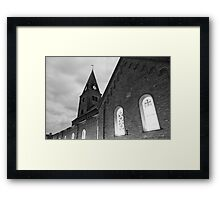 Abbey of Our Lady Framed Print