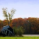 October Barn by cherylc1