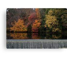 Above the Dam Canvas Print