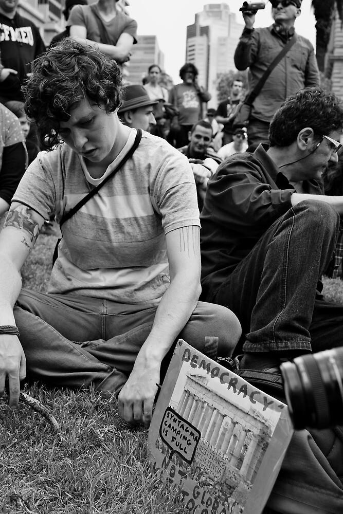 Occupy Melbourne 2 by Andrew  Makowiecki