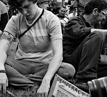 Occupy Melbourne 2 by Andrew  Makowiecki