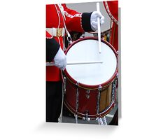 Ceremonial beat Greeting Card