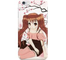 Manga fille iPhone Case/Skin