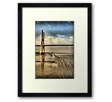 Bridge Vasco da Gama Framed Print