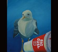 Big Gull by Amy  Reisland Speer