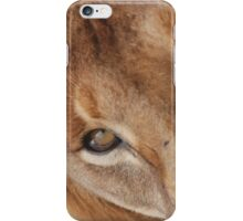 Lion eye iPhone cover iPhone Case/Skin