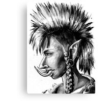 Punk Troll Canvas Print