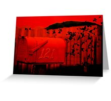 Love Letter/Air Mail Greeting Card