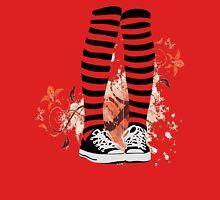 Chucks & Stripes Womens Fitted T-Shirt