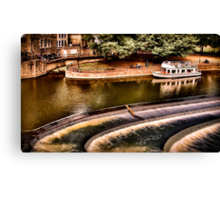 Avon River Falls Canvas Print
