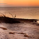Sunset Over Pamlico Sound by Robin Lee