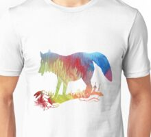 Fox and prey Unisex T-Shirt