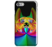 The Psychedelic Cat iPhone Case/Skin