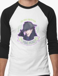 Sherlock - I Made Myself Men's Baseball ¾ T-Shirt