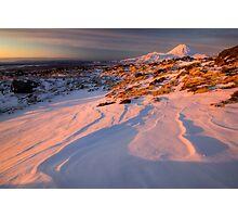 Mt Ngauruhoe not in Cloud  Photographic Print