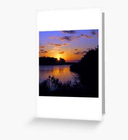 Sunset at MP43 Greeting Card