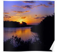 Sunset at MP43 Poster