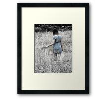 """""""Wistful"""" Framed Print"""