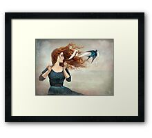 The Little Thief Framed Print