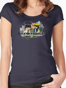 SuperSibsGaming Women's Fitted Scoop T-Shirt
