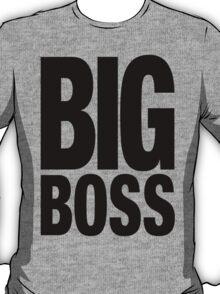 BIG BOSS (Black) T-Shirt