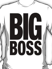 BIG BOSS (Black) T-Shirt