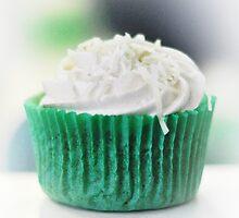 ice coconut cupcake by Karen E Camilleri